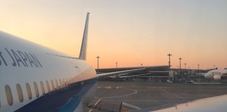ANA Tokyo Narita Avion