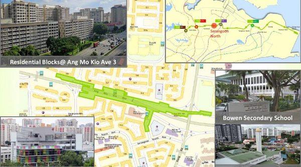 Serangoon North MRT Station