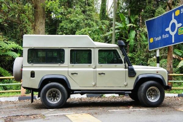 Land Rover Defender Malaisie