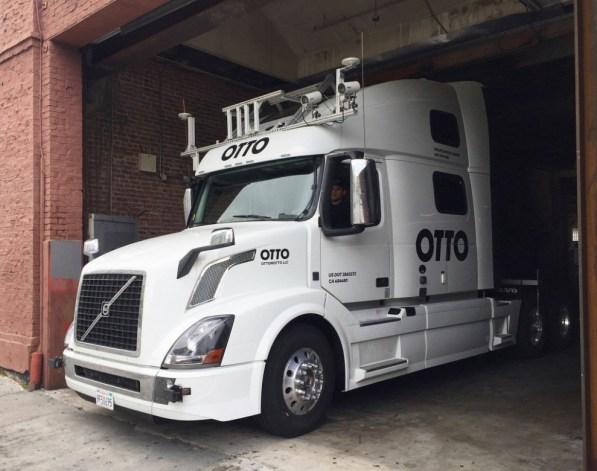 autonomous truck photo