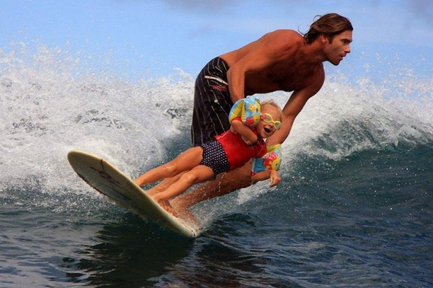 father-daughter-surf-session-stoked