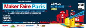 Bannière 600x200 - Maker Faire Paris 2018