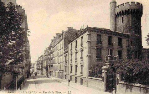 Paris 16e  cartes postales des annes 1900