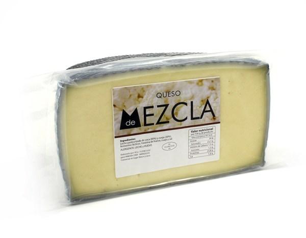 Queso MEZCLA SEMI-CURADO
