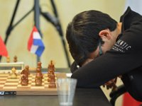 28  Difficult day for Anish Giri: he lost three games so far and today he had Black against Wang Hao, an uncomfortable opponent, given the score between each other.