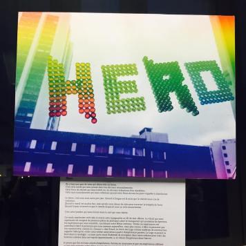 """Hero"" par Bertrand"