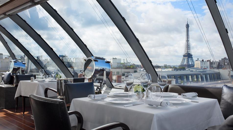7 Restaurantes Com Vista Para A Torre Em Paris Parisabor