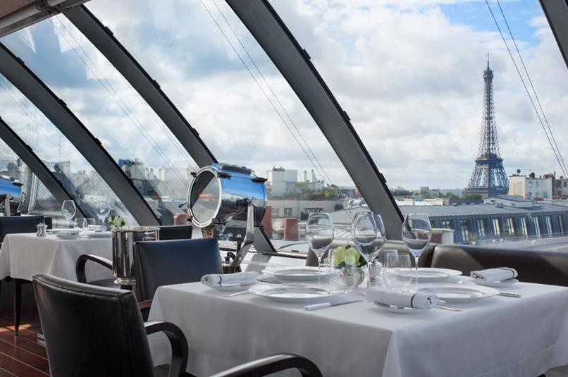 7 Restaurantes com vista para a Torre em Paris