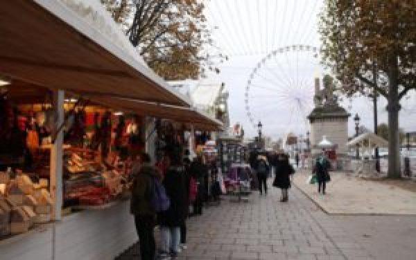 Mercados de Natal Champs-Élysées