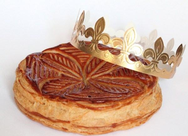 Galette des Rois e coroa