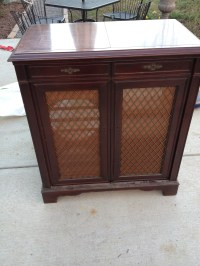 Before and After: Vintage Record Cabinet | The Paris ...