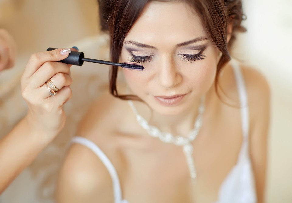 bridal-makeup trial