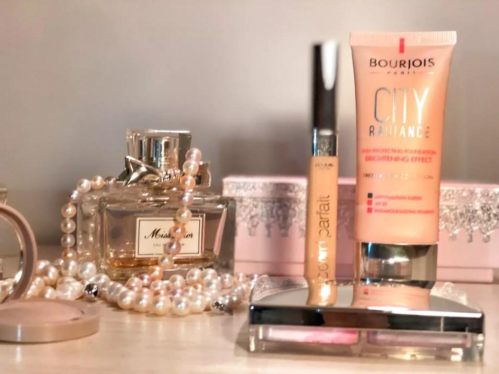 Francuskie kosmetyki do makijażu