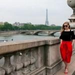 Stylizacja na wiosnę w Paryżu