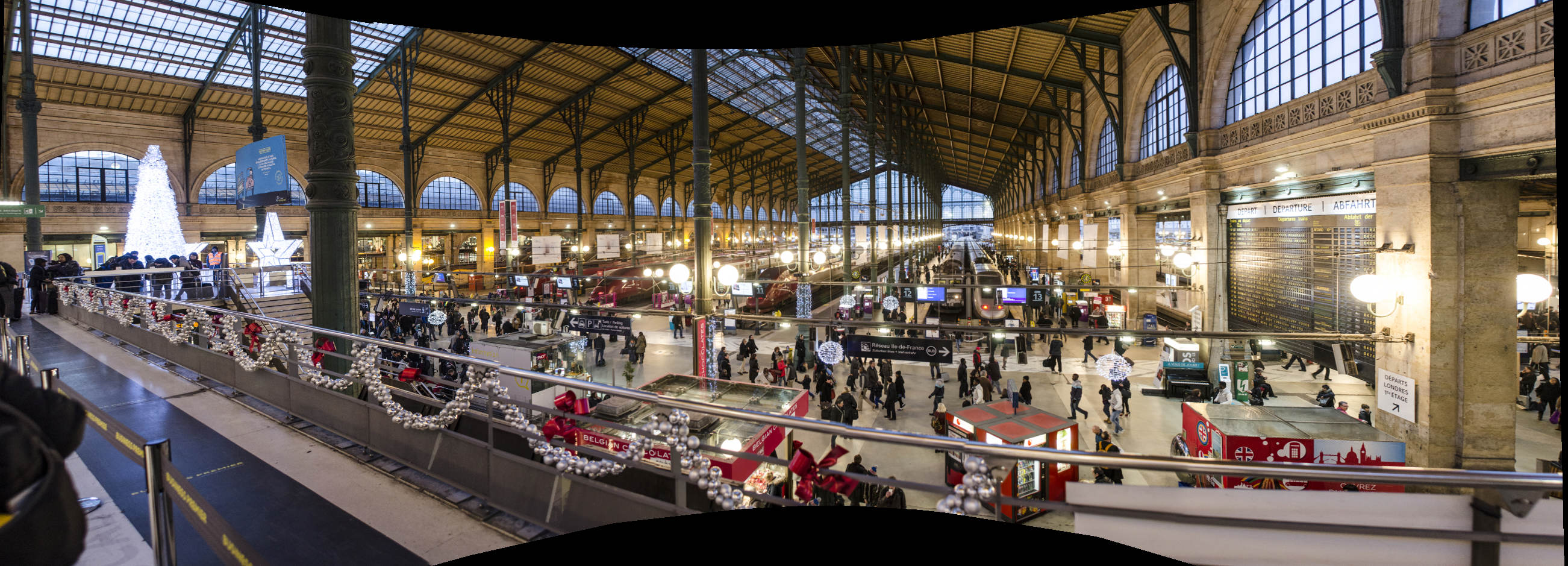 Gare Du Nord Train Station Paris By Train