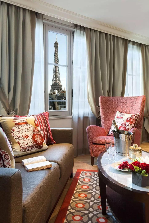 Htel 5 toiles  La Clef Tour Eiffel  Paris Capitale