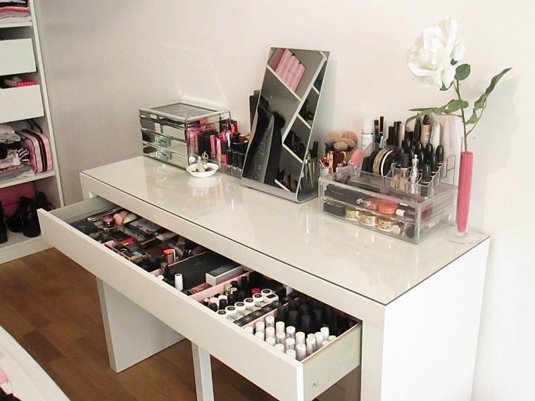 Mon rangement maquillage  Paris Chri Diary
