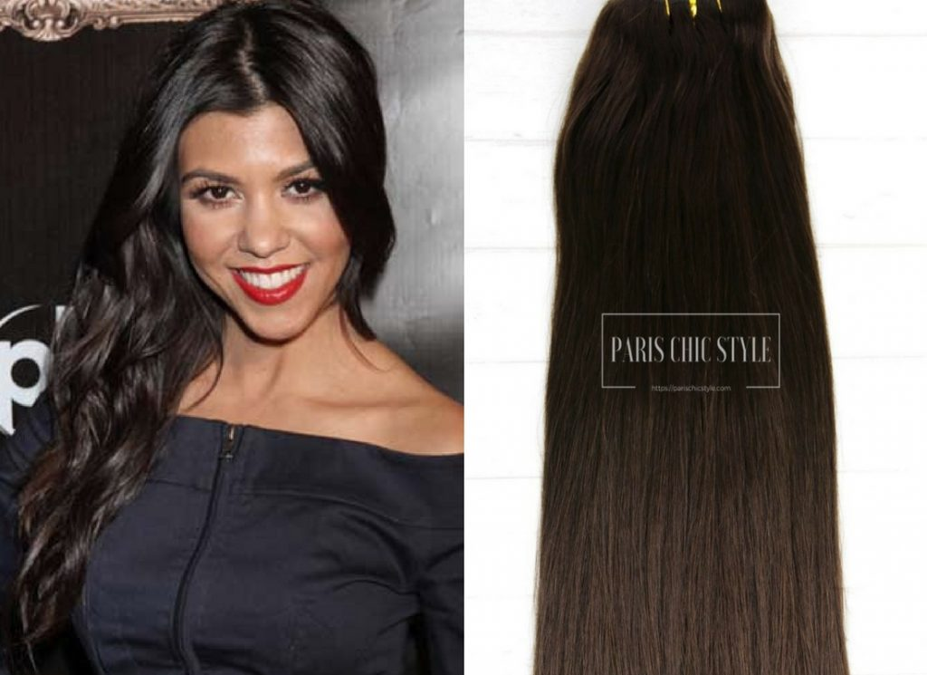2 How To Dress Like A Parisian Chic Hairstyle Effortlessly Dark Brown Clip In Hair Extensions