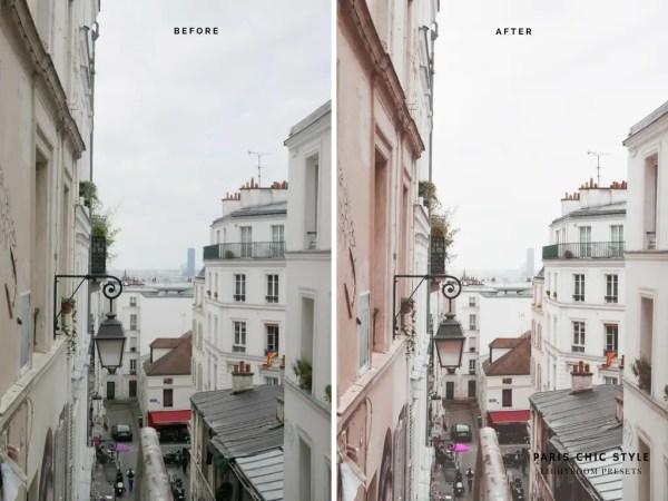Paris France Lightroom Presets 1.1 Rose Gold Paris Chic Style Blog Travel Lifestyle Instagram Before & After 10