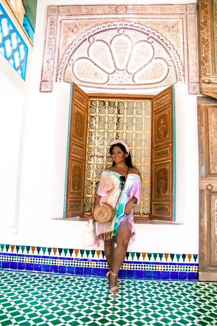 Marjolyn Lago Marj What To Wear In Morocco Marrakech Kaftan Dress Paris Chic Style 2