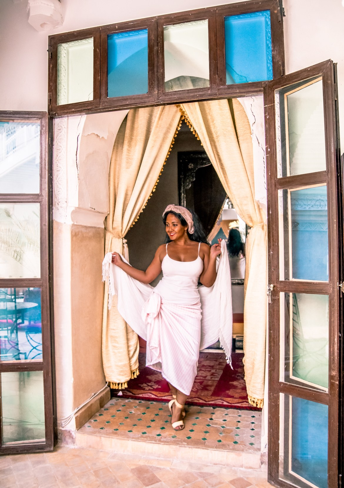 What To Wear in Morocco Marrakech Summer April May June July August September October November Travel Fashion Paris Chic Style 6