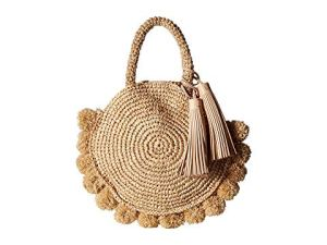 How To Wear Off Shoulder Dress With Crossbody Rattan Or Straw Bags Paris Chic Style 4