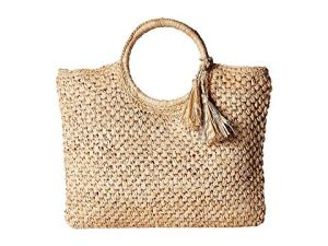 How To Wear Off Shoulder Dress With Woven Rattan Box Straw Bags Paris Chic Style 5