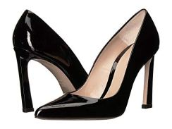 What Color Shoes To Wear With A Red Dress Black Shoes With A Red Dress Stuart Weitzman Chicster Paris Chic Style 6