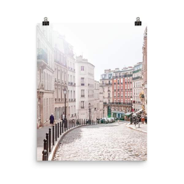 mockup_Transparent_Transparent_montmartre_Paris_wall_art_print_16x20