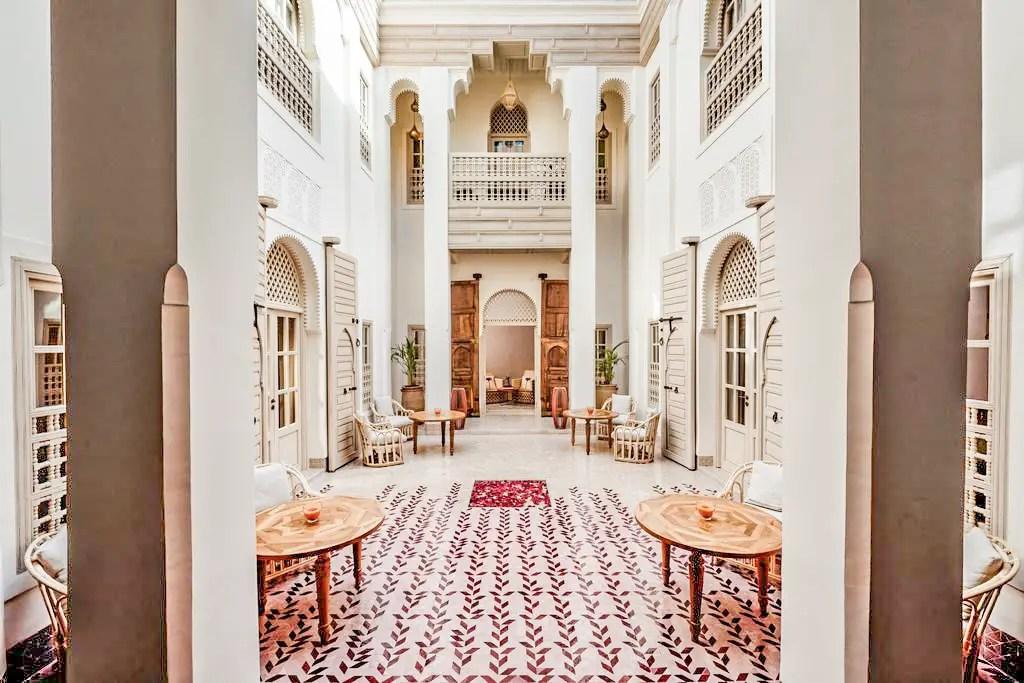 paris chic style best riads in marrakech morocco riad 72 hotel 1