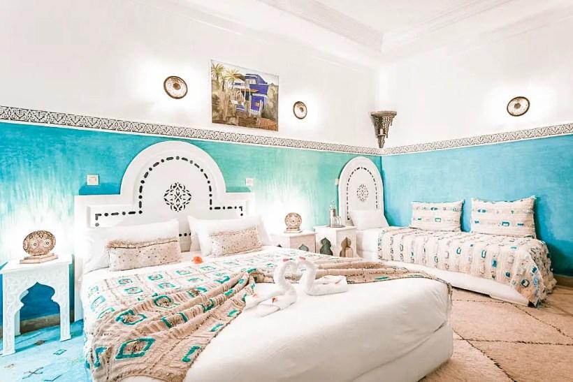 paris chic style best riads in marrakech morocco riad johara 3