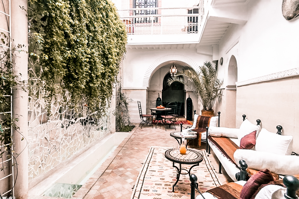 Paris Chic Style Best Riads In Marrakech Morocco Riad El Bellar 10