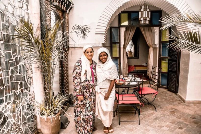 Paris Chic Style Best Riads In Marrakech Morocco Riad El Bellar 3