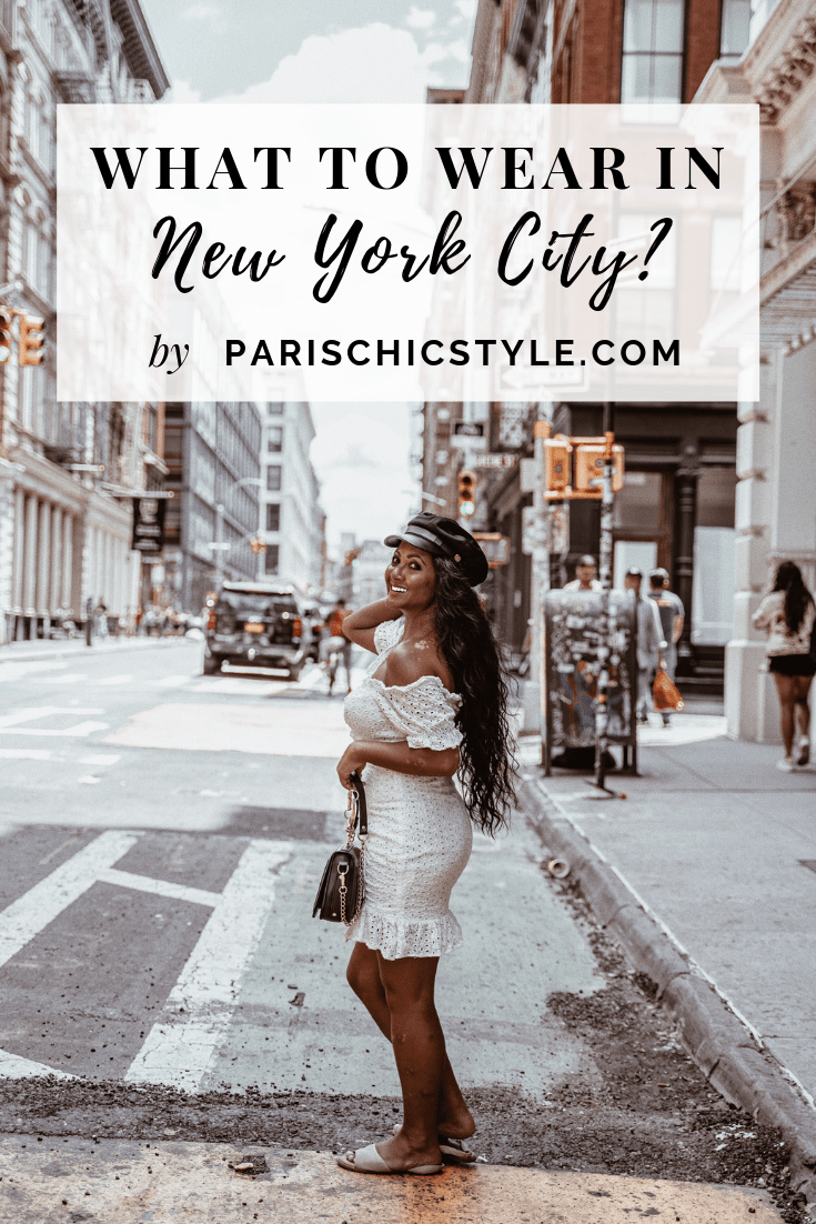 what to wear in new york city white off the shoulder dress paris chic style pinterest