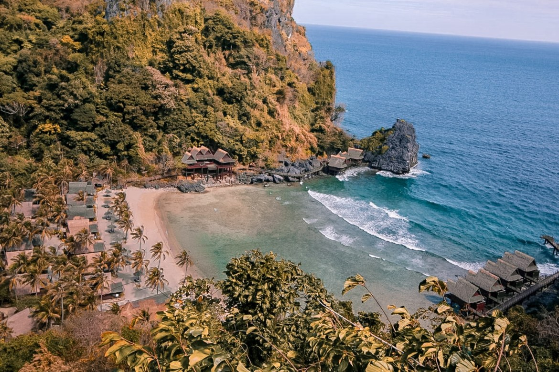 where to stay in el nido palawan el nido hotels beachfront cauayan island resort spa paris chic style