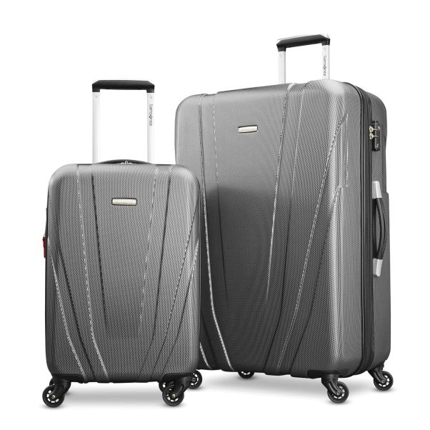 Paris Chic Style Best Travel Luggage Check In Checked Lightweight Travel Suitcase Stylish 4 Wheels Spinner Hard Shell hardcase luggage Samsonite Valor 2 Piece Set 11