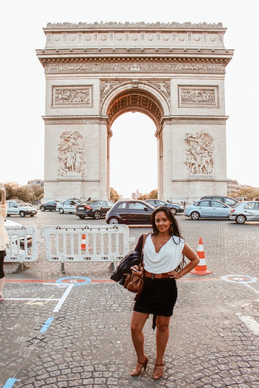 3 to 4 days in Paris Itinerary Best Things To Do In Paris Chic Style Fashion Travel Blog Arc de Triomphe