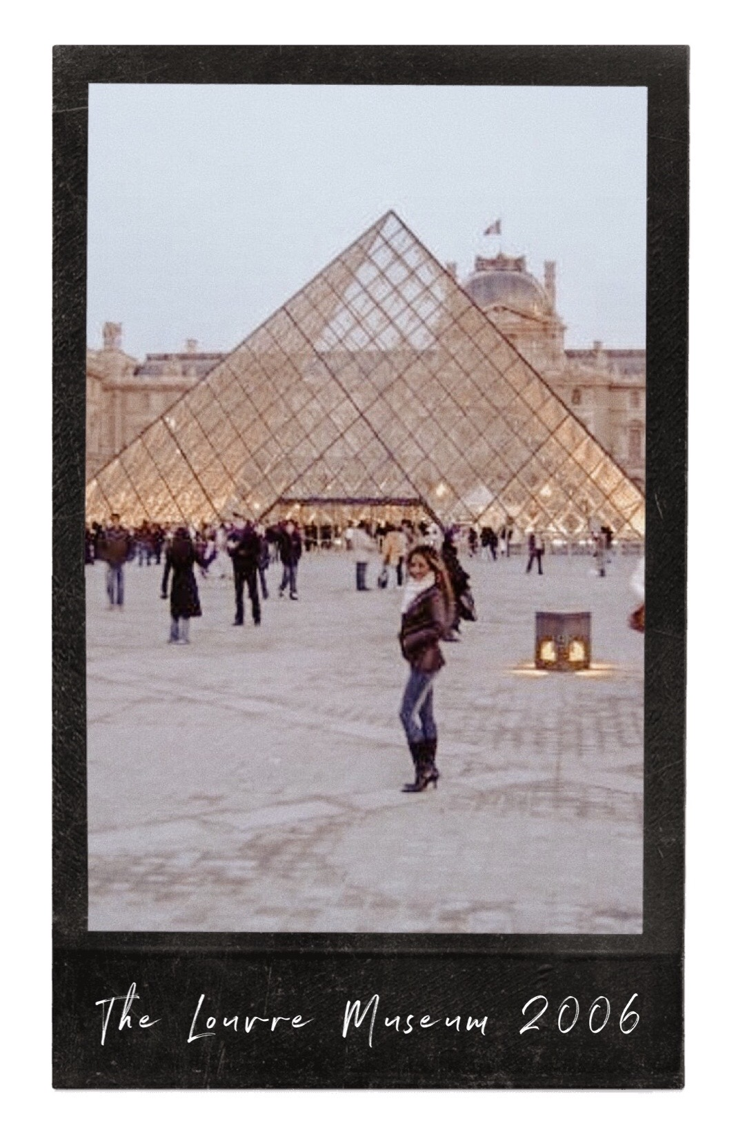 Marjolyn Lago Marj Louvre Museum Paris France Paris Chic Style 2006-Edited-7