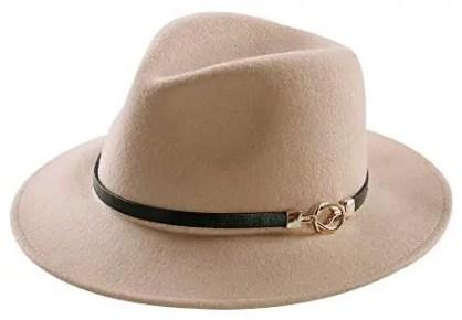 French Style Hat Brim Fedora Paris Chic Style 1