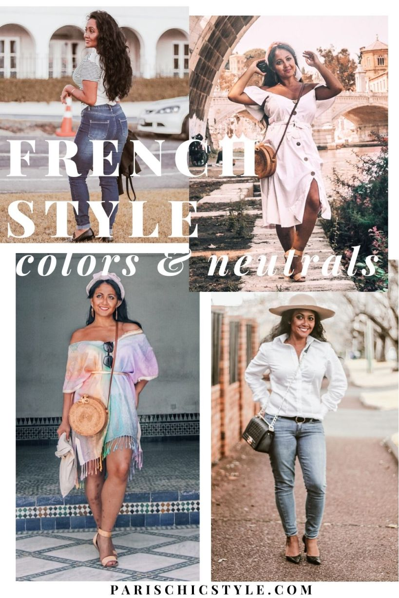 French Style Outfits Parisian Chic In Colors Neutral Fashion What To Wear In Paris Chic Style (2)