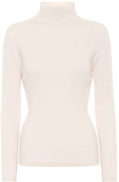 French Clothing Brand APC French White Sweater Parisian Style Paris Chic Style