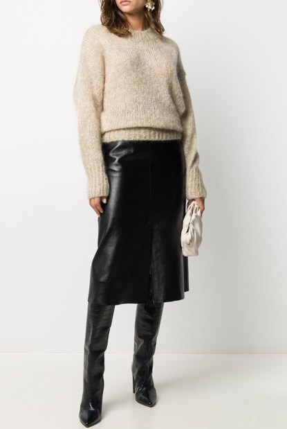 French Clothing Brand Isabel Marant French Knit Jumper Sweater Parisian Style Fashion Paris Chic Style