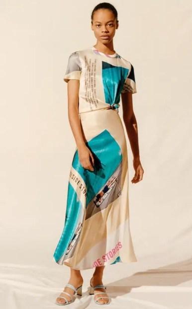 French Clothing Brand Maje French Dress Silk Parisian Style Paris Chic Style