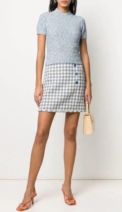 French Clothing Fashion Brand Parisian Style Skirt Paris Chic Style