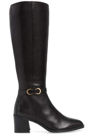 Most Comfortable Stylish Knee High Boots For Wide Calves Naturalizer Sterling Long Boots Paris Chic Style
