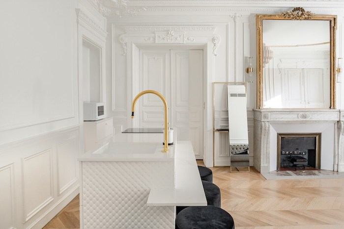 French Luxurious Airbnb In Champs Elysees Paris Apartment For Rent Paris Chic Style