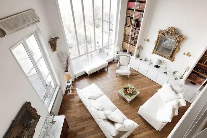 Romantic Luxurious Airbnb In Paris With Montmartre & Sacre Couer Views Paris Loft Apartment For Rent Paris Chic Style