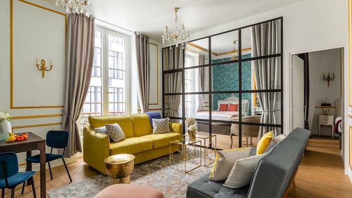 Affordable Luxury Paris Airbnb Apartment In Louvre Le Marais For Rent Anti-Covid Cleaning Paris Chic Style