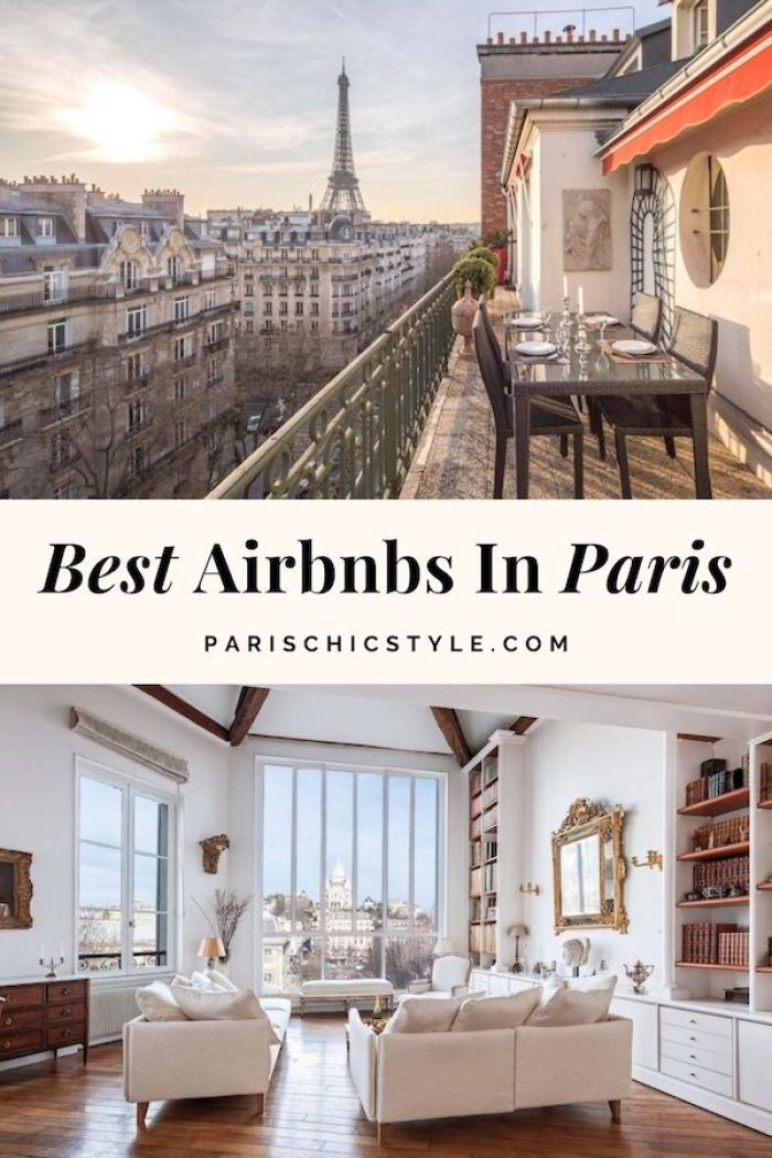 Best Airbnbs In Paris Eiffel Tower Views Balcony Affordable Cheap Luxury Paris Airbnb Apartment For Rent Holiday Vacation Paris Chic Style