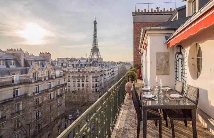 Best Luxury Paris Airbnbs With Eiffel Tower Views Rooftop Terrace VRBO Paris Apartment For Rent Paris Chic Style